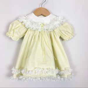 Vintage The Children's Hour Ruffle Dress Infant